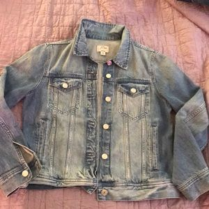 Jcrew classic denim jacket